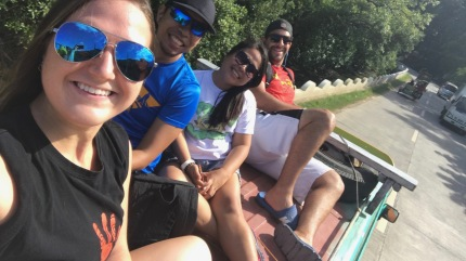 Rooftop Jeep ride with Den, Mhar & Conor